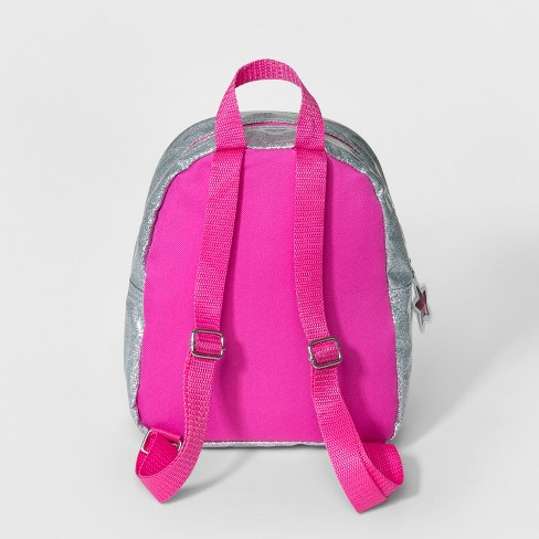 37f75c85b428 Girls  L.O.L. Surprise!  Sparkle Time  Backpack - Silver Pink   Target