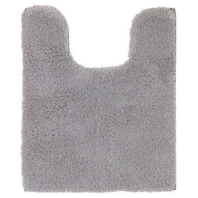 Luxury Solid Contour Bath Rug Skyline Gray - Fieldcrest®