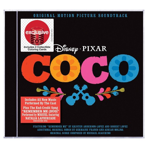 Various Artists - Coco The Soundtrack (Target Exclusive) - image 1 of 1