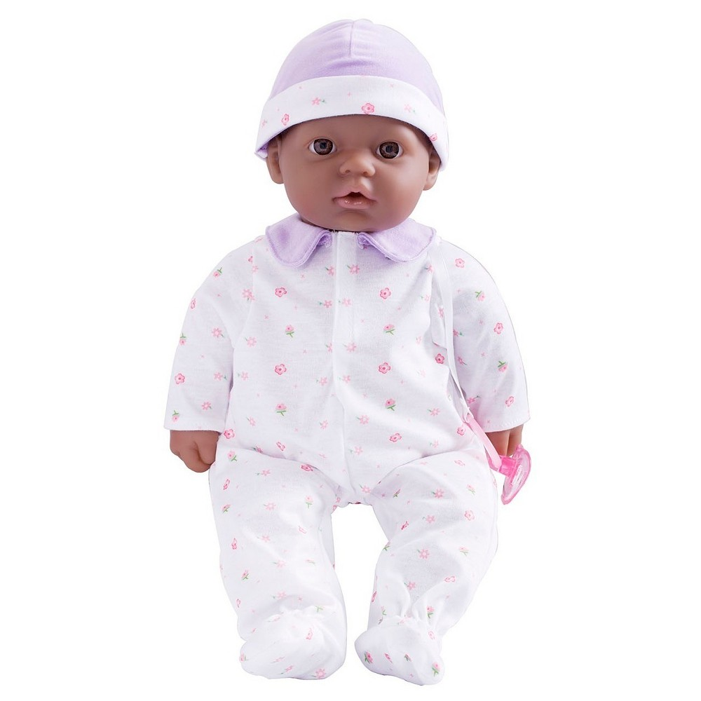 JC Toys La Baby 16 Washable Soft Body African American Play Doll Designed by Berenguer - Purple Made by JC Toys, this doll is appropriate for kids aged 2 years and up. Gender: Unisex.