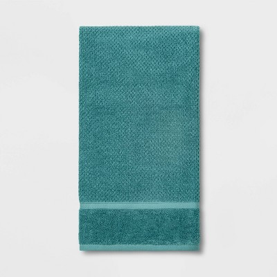 Performance Texture Bath Sheet Turquoise - Threshold™