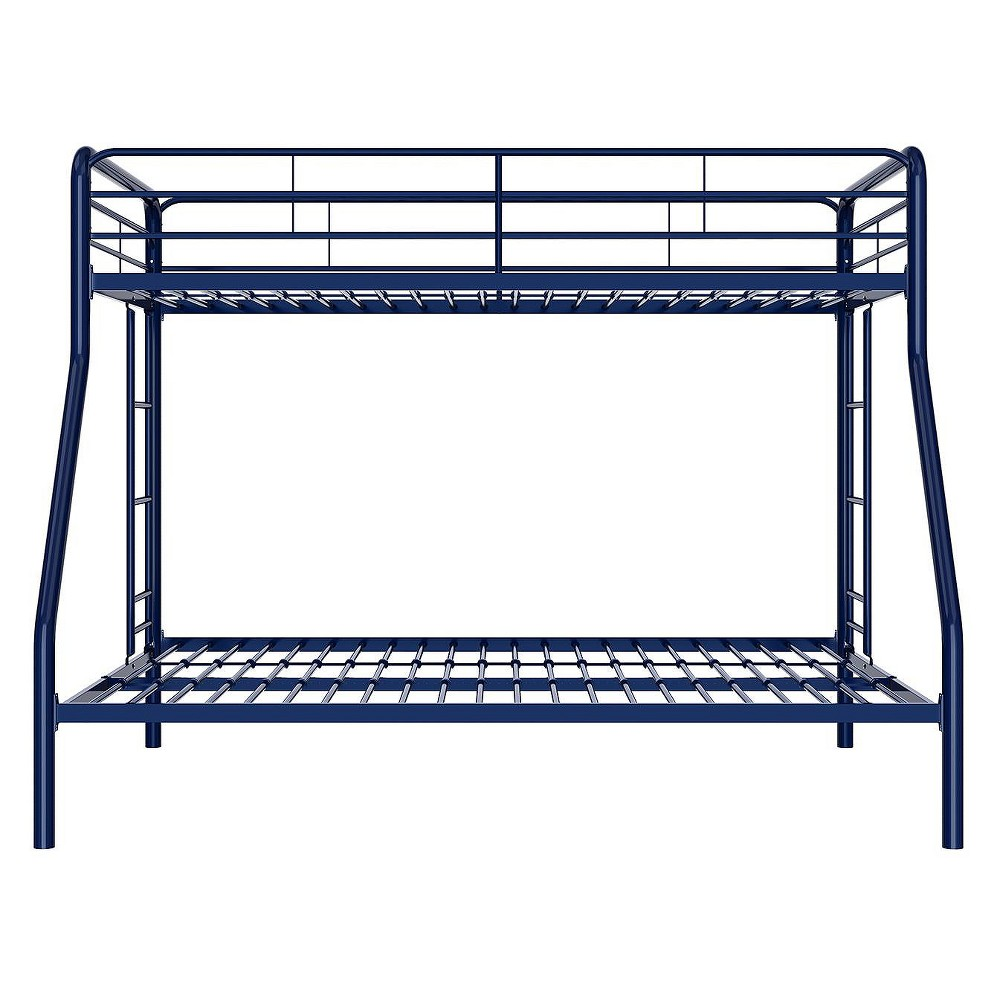 Twin Over Full Bunk Bed Navy - Dorel Home Products, Blue