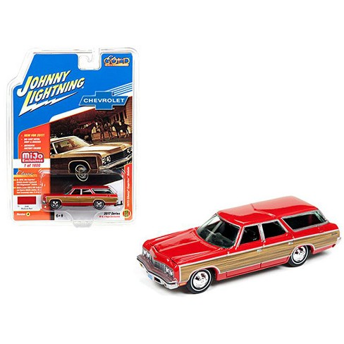 1973 Chevrolet Caprice Wagon Red Classic Gold 1 64 Target