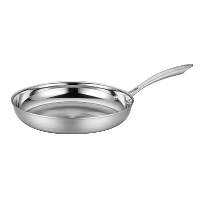 """Cuisinart Classic MultiClad 12"""" Stainless Steel Tri-Ply Skillet - MCS22-30"""