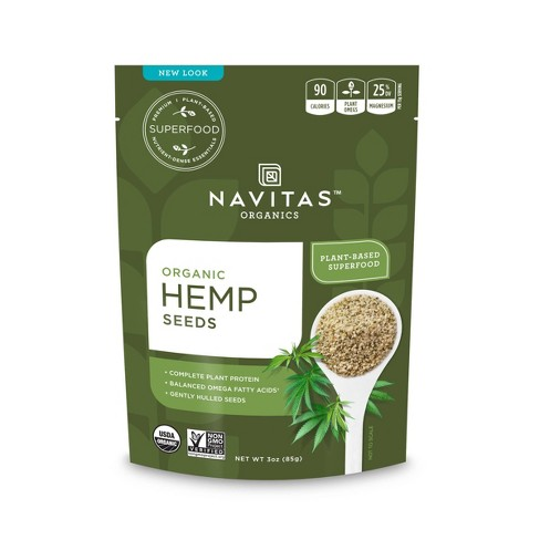 Navitas Organics Vegan Hemp Seeds - 3oz - image 1 of 4