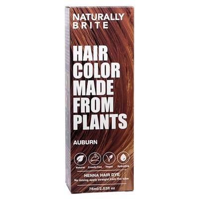 BRITE Naturally Henna Hair Dye Auburn - 2.53 fl oz