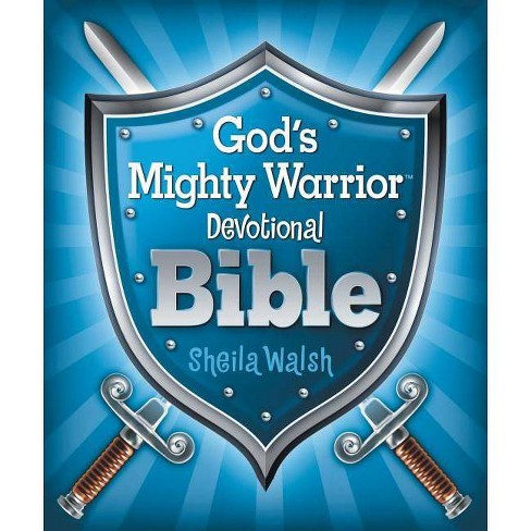 God's Mighty Warrior Devotional Bible - by  Sheila Walsh (Hardcover) - image 1 of 1