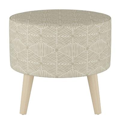 Riverplace Round Cone Leg Ottoman  - Project 62™
