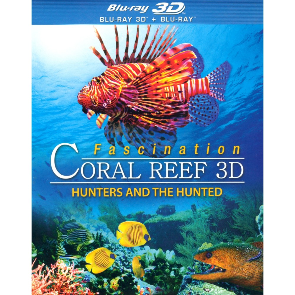 Fascination Coral Reef 3d:Hunters And (Blu-ray)
