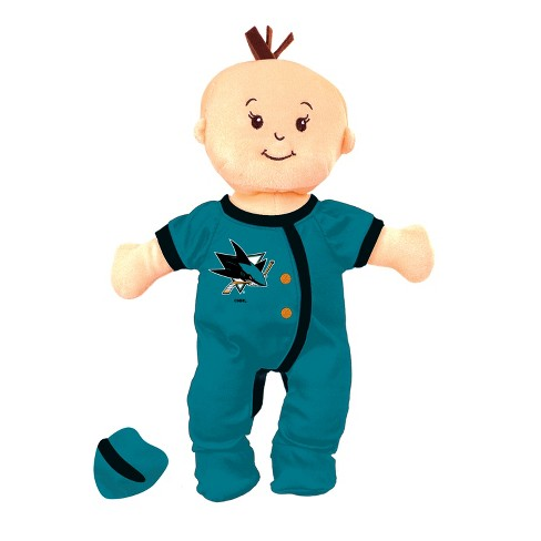 Nhl San Jose Sharks Wee Baby Stella Doll Target