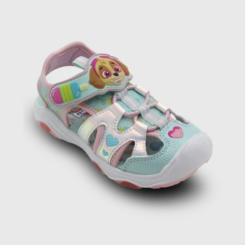 Girls Toddler PAW Patrol Light Up Sneakers  Tennis Shoes Skye SIZE 12 New