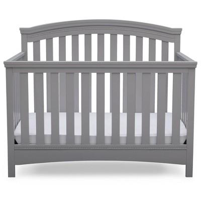 Delta Children Emerson 4-in-1 Convertible Crib -Gray