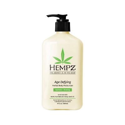 Hempz Age Defying Herbal Body Moisturizer - 17 fl oz