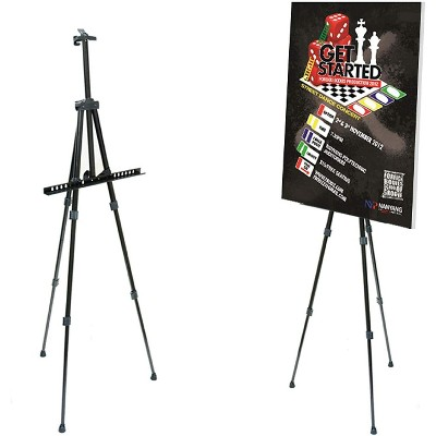 """Pintar Art Supply 66"""" Professional Adjustable Artist Easel Stand with Travel Carrying Bag Included"""