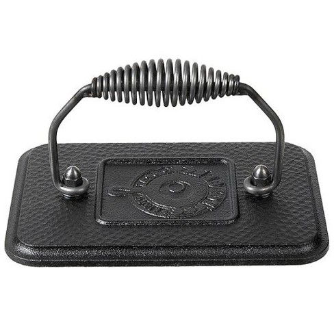 Lodge Cast Iron Rectangular Grill Press - image 1 of 1