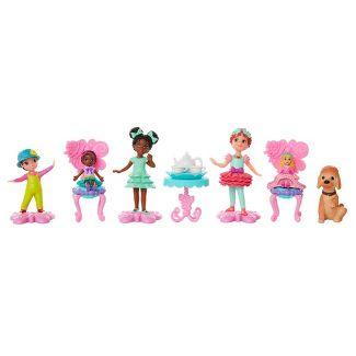 Disney Fancy Nancy Tea Party Collectible Figurine Set