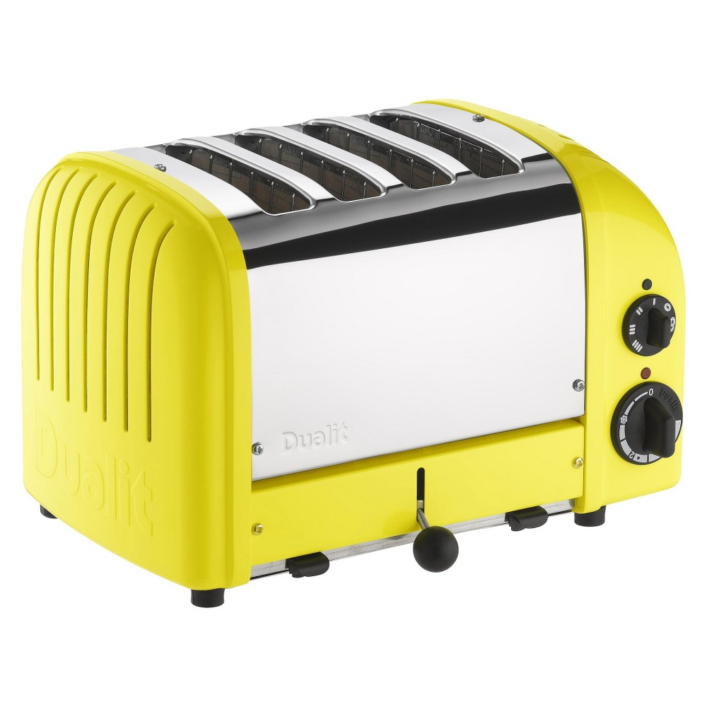 Dualit Citrus Yellow New Generation Classic Toaster – 4 slice 13763888