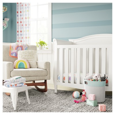 Nursery Works Sleepytime Rocker With Walnut Legs