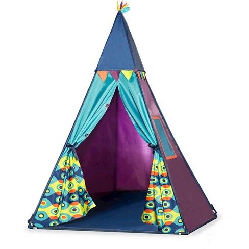 B. Teepee Play Tent - Sea Blue - image 1 of 4
