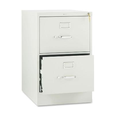 HON 510 Series Two-Drawer Full-Suspension File Legal 29h x25d Light Gray 512CPQ