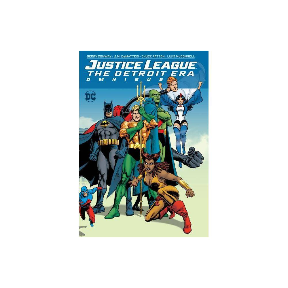 Justice League: The Detroit Era Omnibus - by Gerry Conway (Hardcover) With tales that span from the 1980s to current day, this oversize omnibus edition collects for the first time in chronologic order every appearance of the Justice League Detroit. Known as the  Detroit Era  Justice League, this team featured mainstays such as Batman and Martian Manhunter and offbeat members such as Zatanna, Elongated Man, Vixen, Vibe, Gypsy and Steel! Presented by classic comics creators Gerry Conway, J.M. DeMatteis, Chuck Patton and Luke McDonnell, Justice League: THE Detroit Era Omnibus collects Justice League OF America #233-261, Justice League OF America Annual #2-3, Jla Classified #22-25, Jsa Classified #14-16, DC Retroactive: Jla-THE 80'S #1 and Infinity Inc #19.