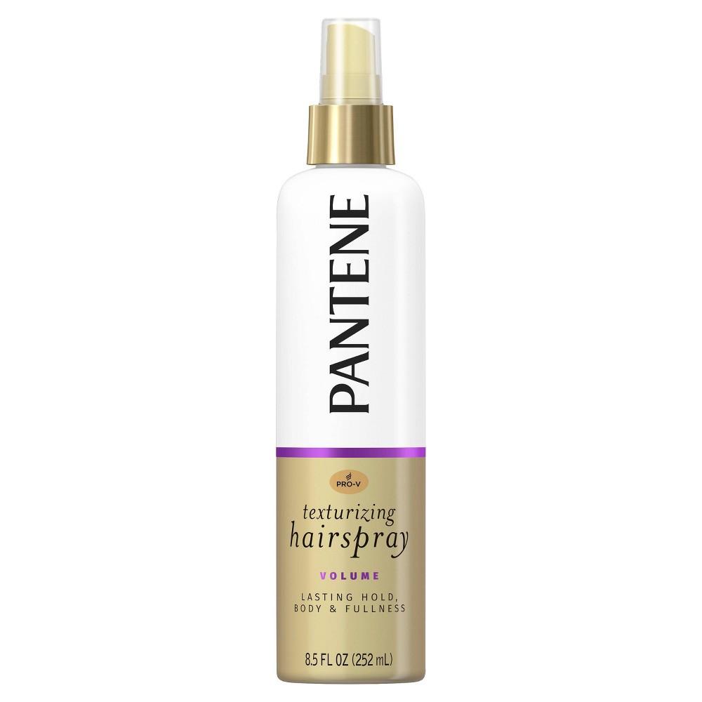 Pantene Pro V Volume Lasting Hold Body Softness Texturizing Non Aerosol Hairspray 8 5 Fl Oz