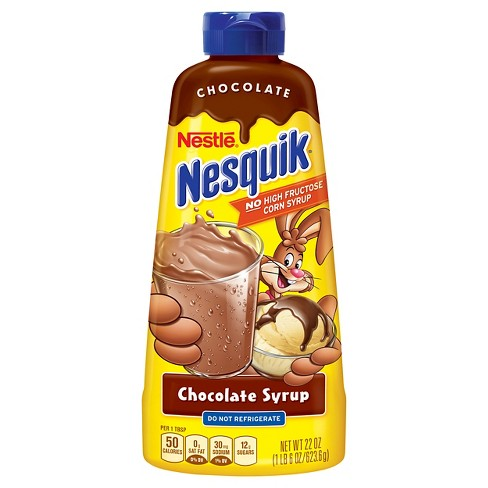Nestle Nesquik Chocolate Syrup - 22oz - image 1 of 5