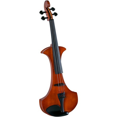 Cremona SV-180E Premier Student Electric Violin Outfit 4/4 Violin Brown - image 1 of 3