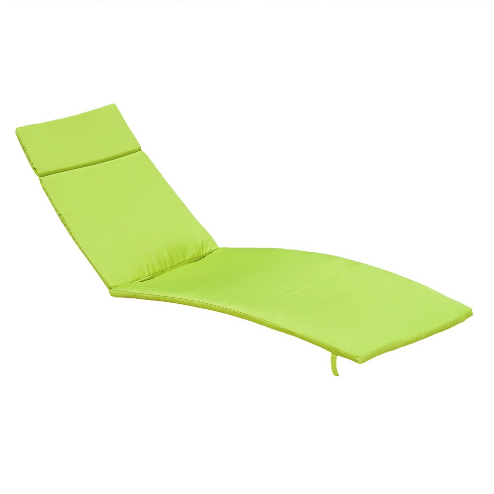 Salem Set of 2 Chaise Lounge Cushions - Green - Christopher Knight Home