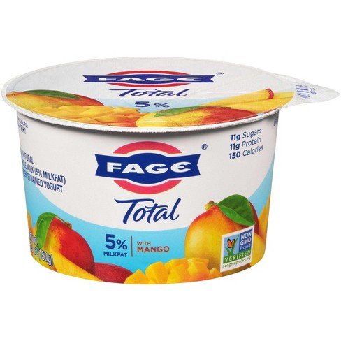 Fage Total Greek Strained Mango Yogurt - 5.3oz - image 1 of 1