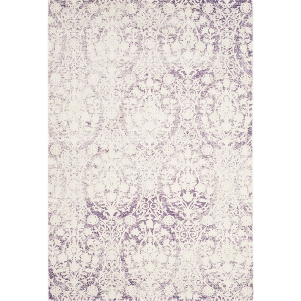 3X5 Medallion Loomed Accent Rug Lavender/Ivory - Safavieh Compare