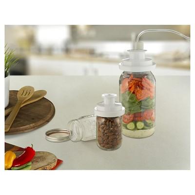 FoodSaver Jar Sealer Regular & Wide mouth - FCARWJAH