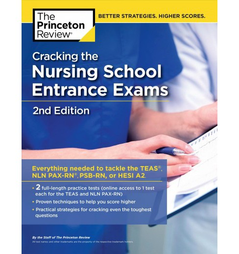 Princeton Review Cracking the Nursing School Entrance Exams -  (Paperback) - image 1 of 1