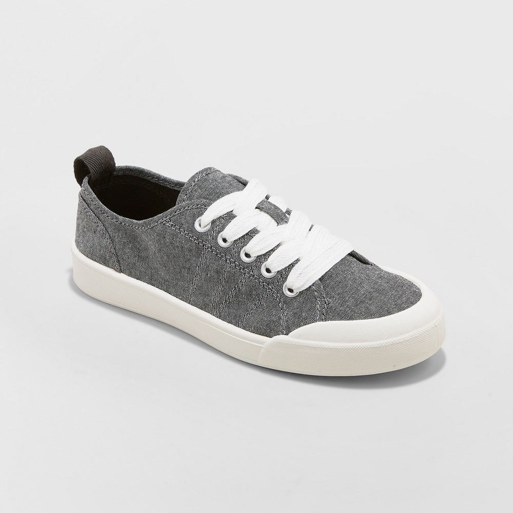 Women's Mad Love Cheryl Lace-up Canvas Sneakers - Black 10