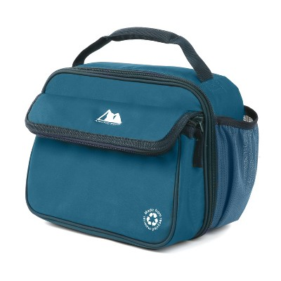 Arctic Zone Recycled Dual Compartment Lunch Box - Midnight Blue