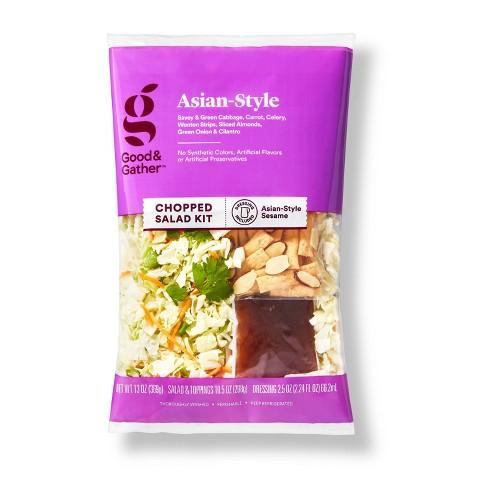 Asian Style Chopped Salad Kit - 13oz - Good & Gather™ - image 1 of 4