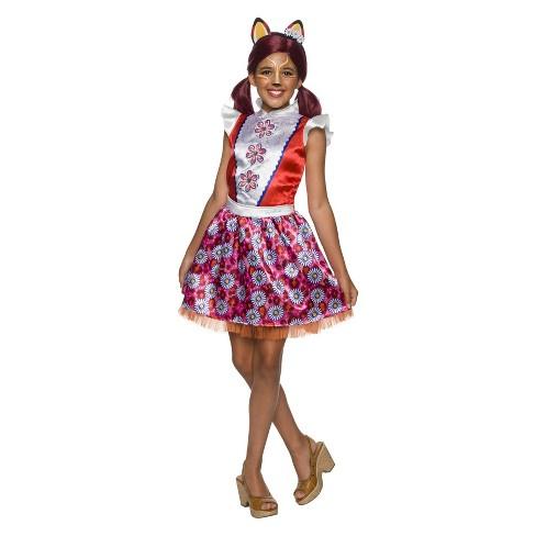 Girls' Enchantimals Felicity Fox Gils Halloween Costume - image 1 of 1