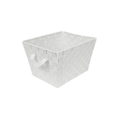 "Simplify Small 10"" Woven Storage Bin Heather Gray"