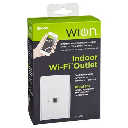 Woods Indoor Wi-Fi Outlet