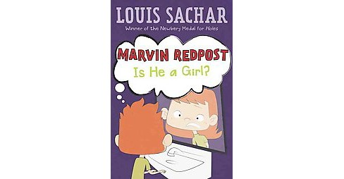 Marvin Redpost : Is He a Girl? (Reprint) (Library) (Louis Sachar) - image 1 of 1