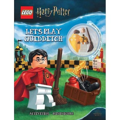 Lego(r) Harry Potter(tm): Let's Play Quidditch! - (Activity Book with Minifigure) (Paperback)