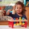 Melissa & Doug Deluxe Pounding Bench Wooden Toy With Mallet - image 3 of 4