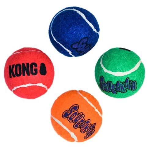 Kong Squeakair Ball Dog Toy Small 4ct Target