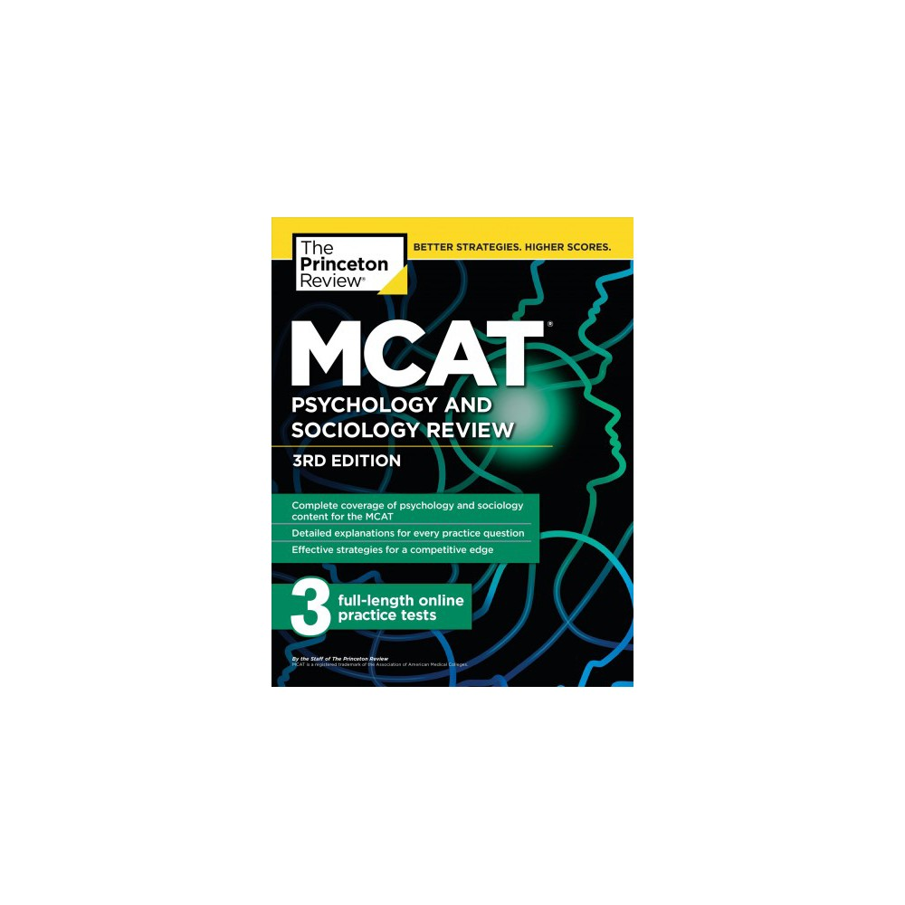 Princeton Review Mcat Psychology and Sociology Review - 3 (Paperback)