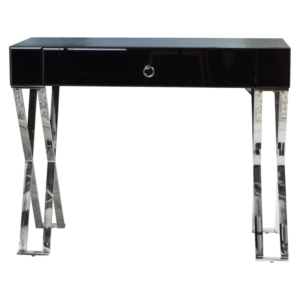 Brilee Console Table Clear Glass - Christopher Knight Home
