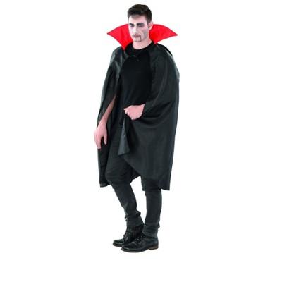 Northlight Black and Red Vampire Cape Boy Child Halloween Costume - Medium