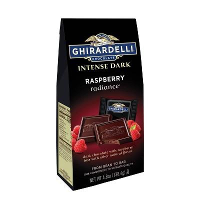 Ghirardelli ID Raspberry Radiance Squares Bag - 4.8oz