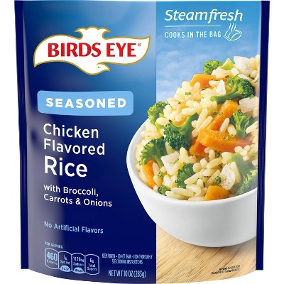 Birds Eye Frozen Chicken Flavored Rice with Broccoli-Carrots & Onions - 10oz