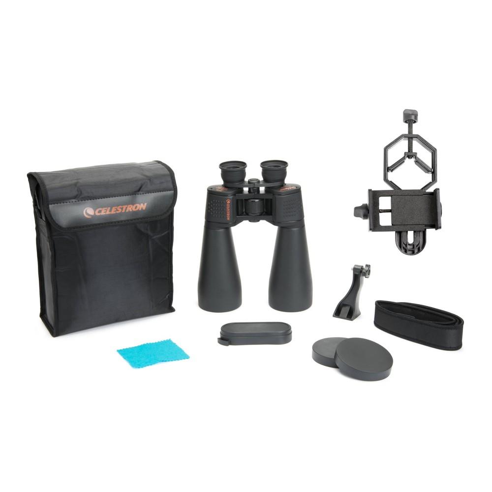Image of Celestron SkyMaster 25x70 Binocular with Basic Smartphone Adapter - Black