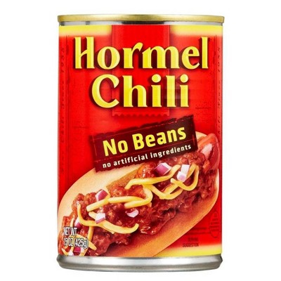 Chilis & Stews: Hormel Chili No Beans